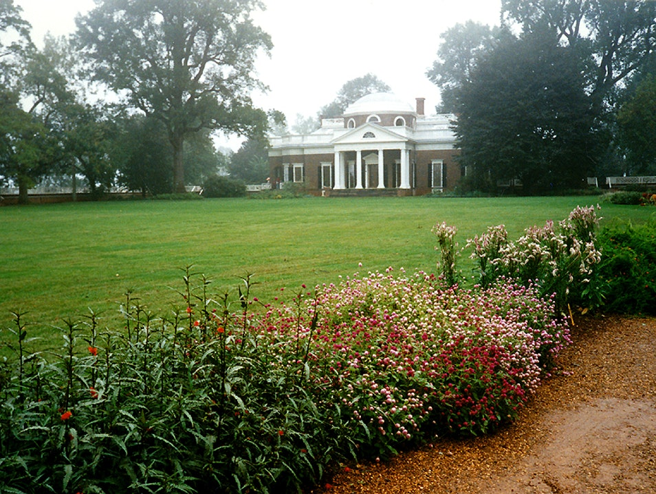 Jefferson's Inspiring Gardens of Montecello Charlottesville Virginia United States
