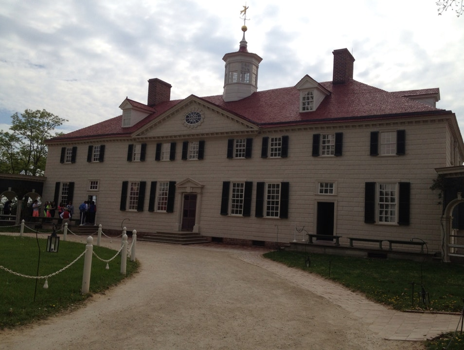 Mount Vernon By Morning Mount Vernon Virginia United States
