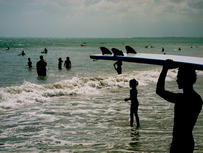 Impossibly Good Surfing