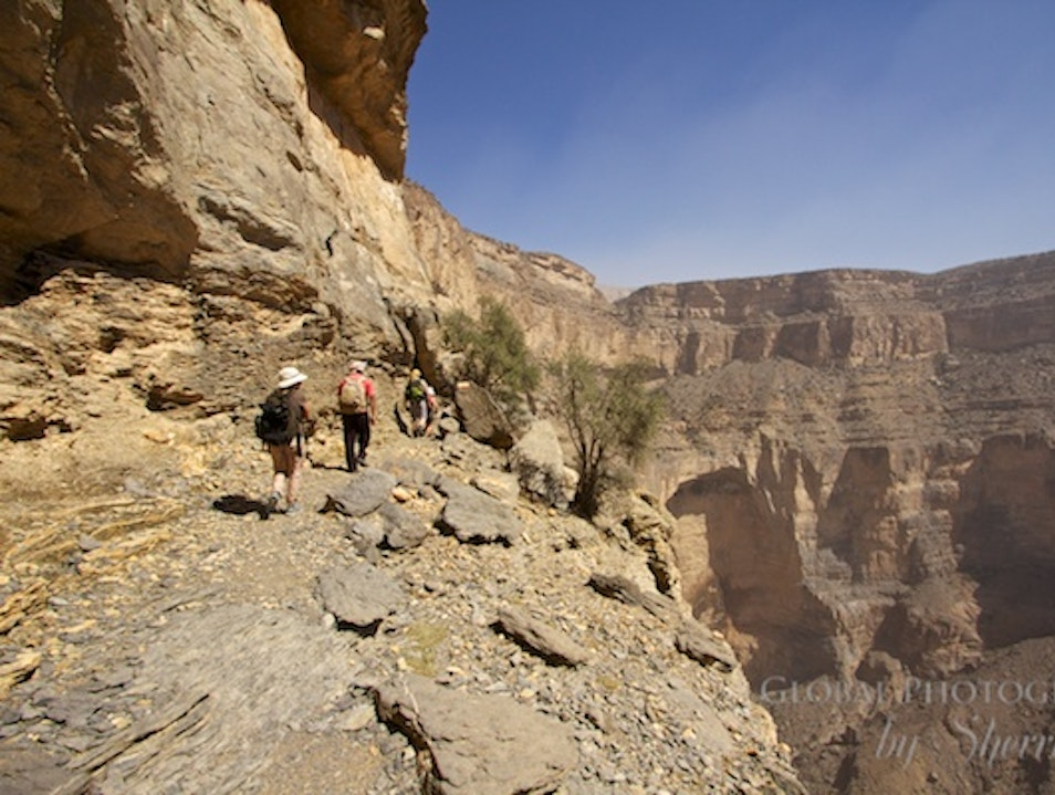 Oman's Balcony Walk Jabal Shams  Oman