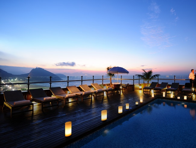 Take a dip in Rio's romantic rooftop pools