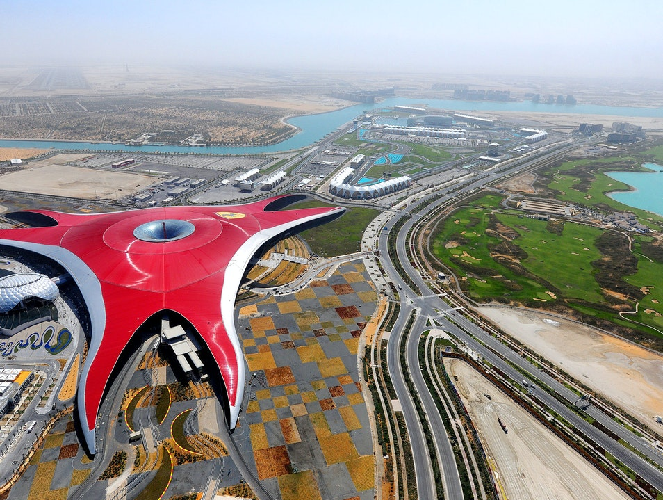 Unmistakably Ferrari World  Abu Dhabi  United Arab Emirates
