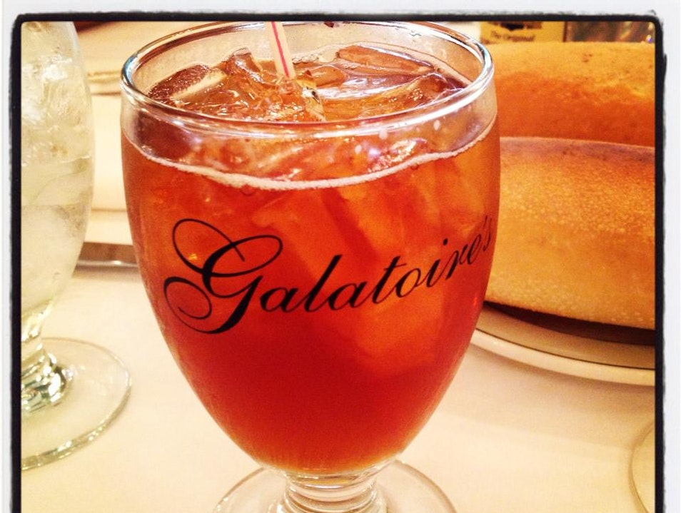 Friday Lunch at Galatoire's New Orleans Louisiana United States