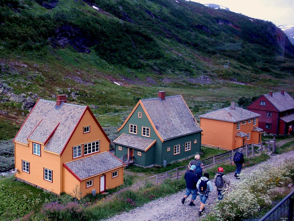 Summer Hiking in Norway Myrdal  Norway