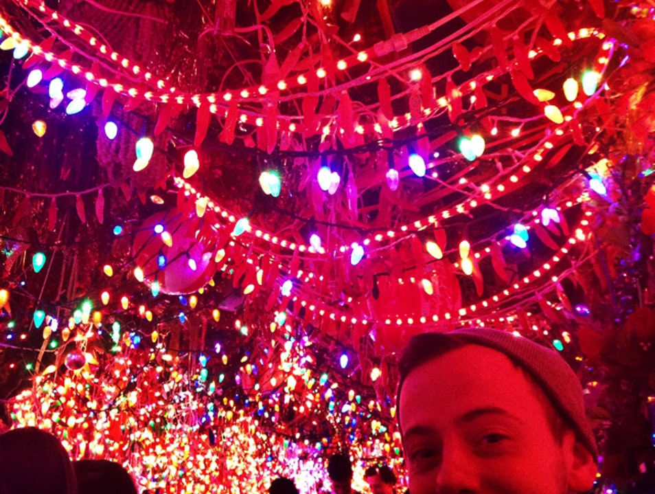 A Tiny Space Full Lights, Cheers And Amazing Food New York New York United States