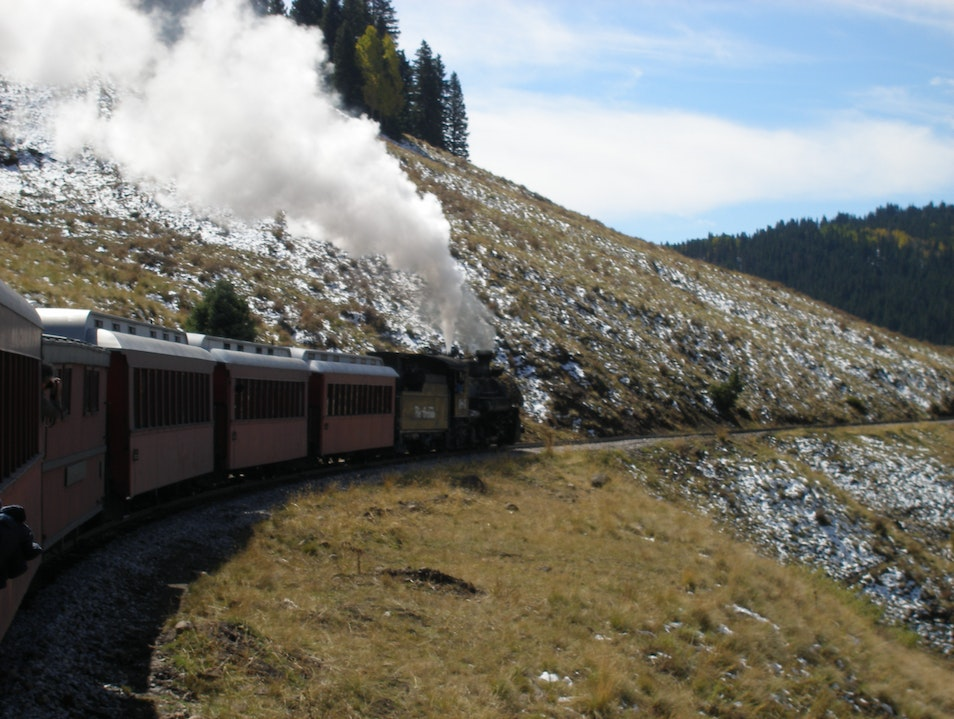 America's Longest and Highest Steam Operated Train Antonito Colorado United States