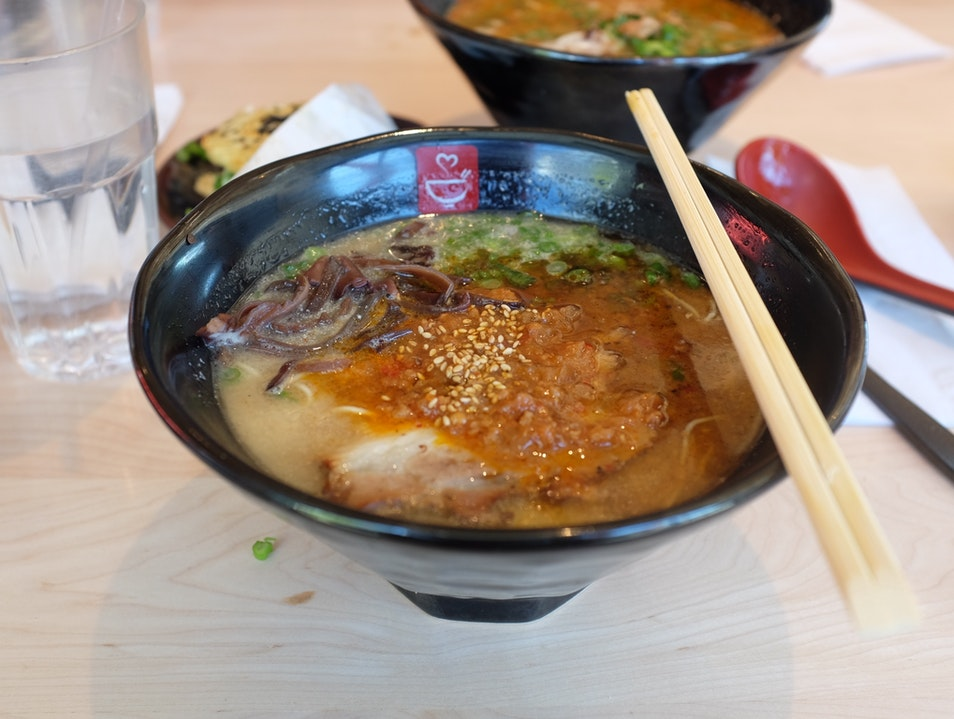 Delicious Japanese Ramen efficiently served to you