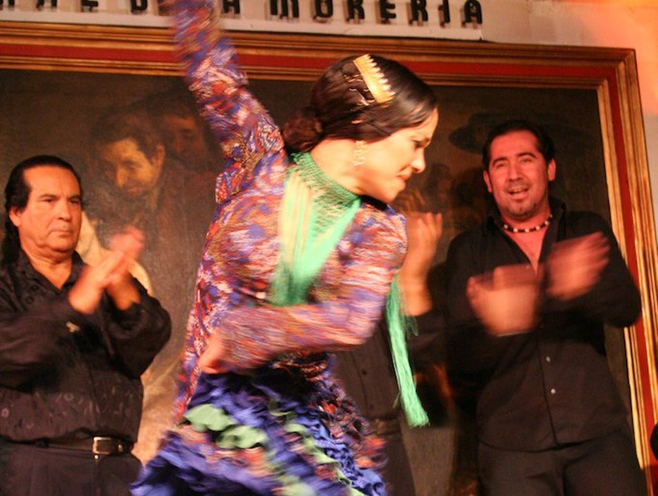 Midnight Flamenco in Madrid Madrid  Spain