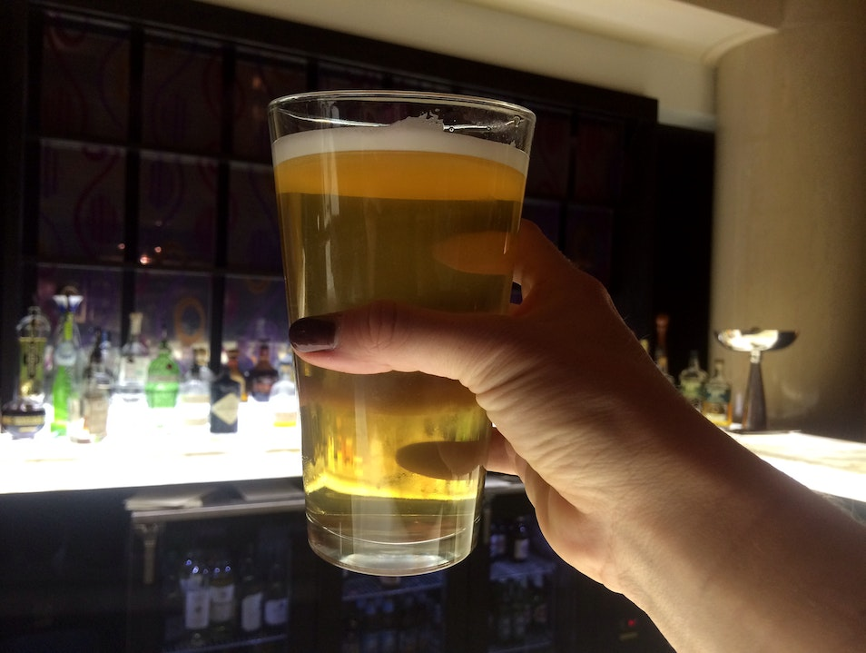 A One-of-a-Kind Brew at the Teller Bar
