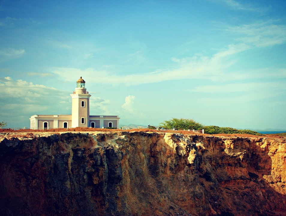 Perched on a Cliff Llanos Costa  Puerto Rico