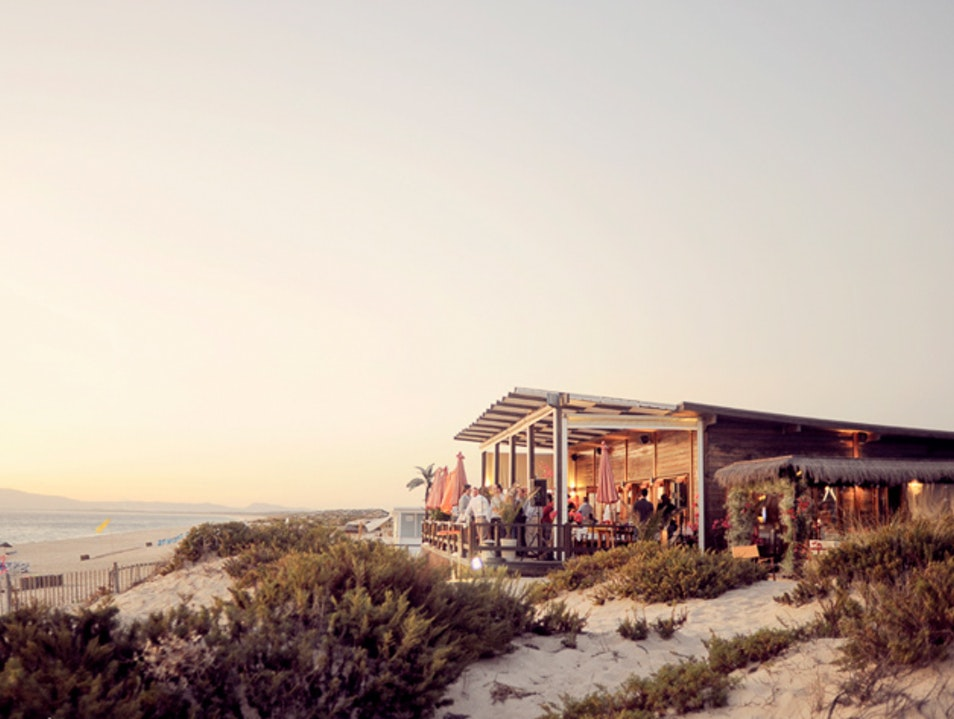 Sundowners with your feet in the sand