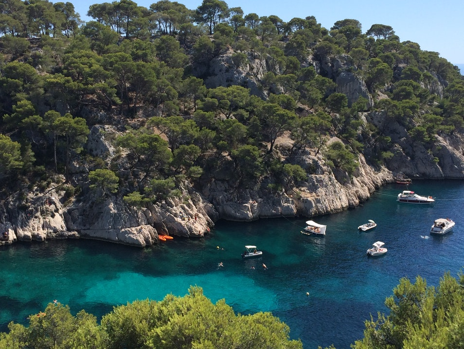 Soaking up the Sun in Les Calanques Cassis  France