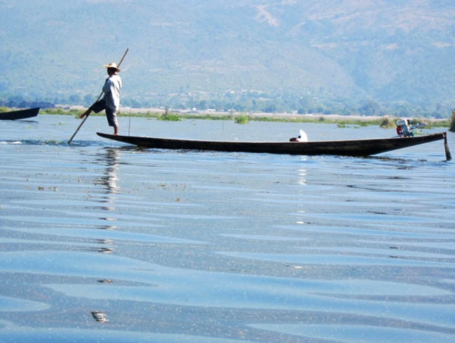 Inle Lake Boat Ride