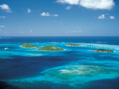 Tobago Cays Marine Park Grenadines  Saint Vincent and the Grenadines