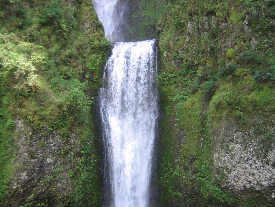Hike Behind the Falls Corbett Oregon United States