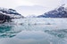 Sailing through ice in Glacier Bay