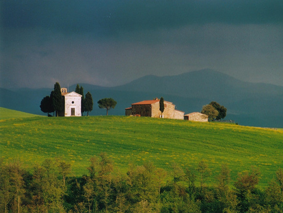 A Postcard-Perfect Drive Pienza  Italy