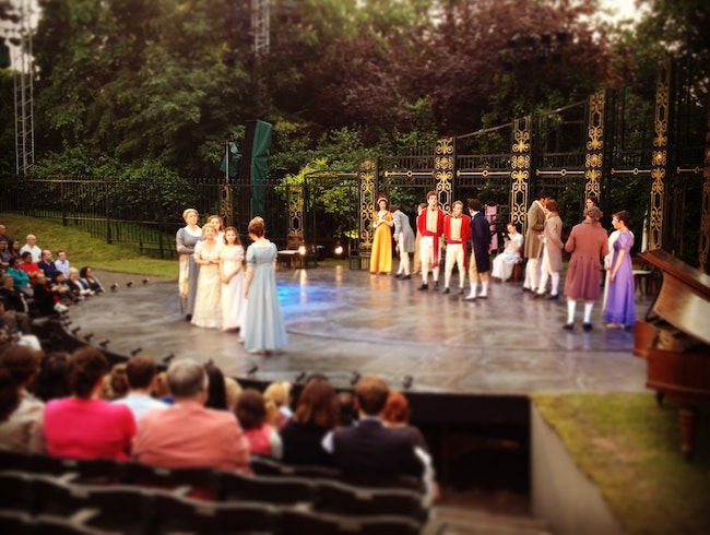 Summer's Also the Stage at the Open Air Theatre