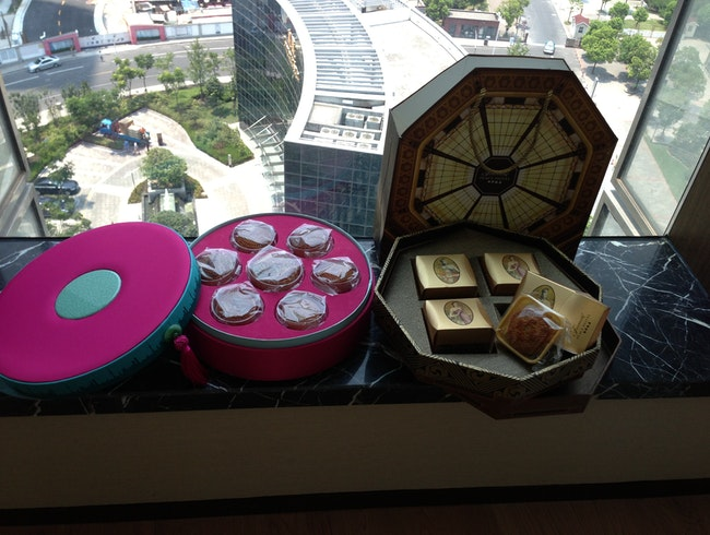The Mid-Autumn Festival Mooncakes!