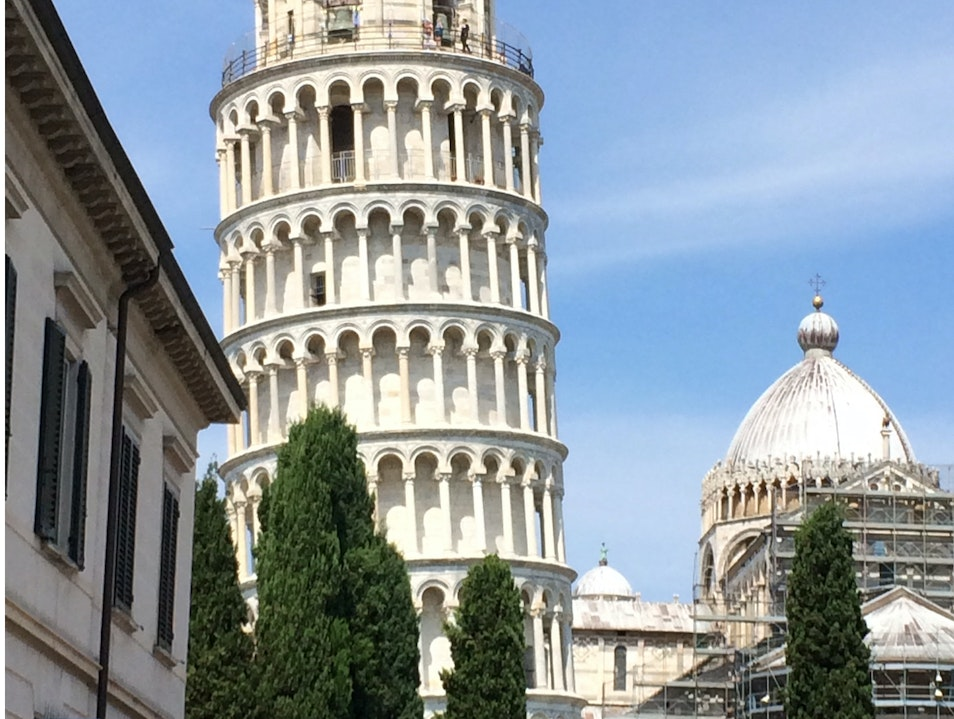 It's Not Really Leaning...You've Had Too Much Wine. Pisa  Italy