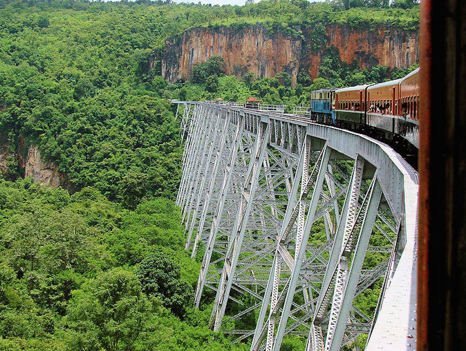 Train Trips of Asia Sagaing  Myanmar