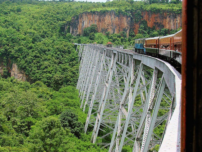 Train Trips of Asia