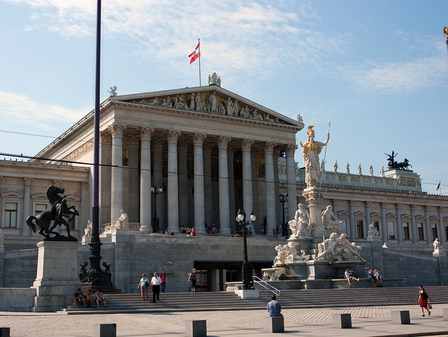 The Austrian Parliament Building