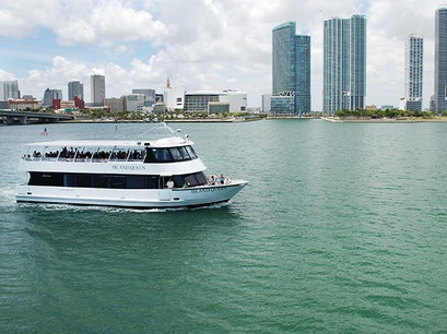 Biscayne Bay Sightseeing Cruise Miami Florida United States