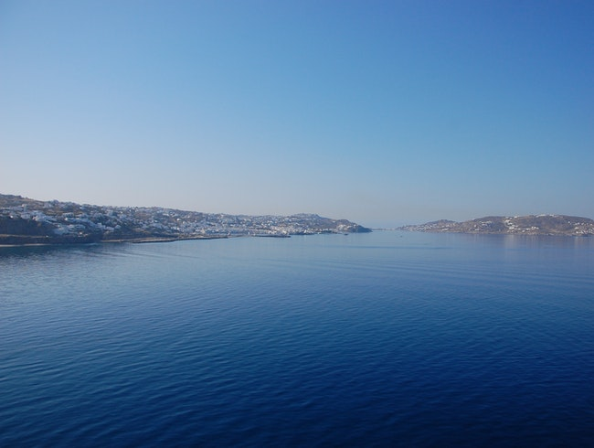 The beauty of Grecian islands