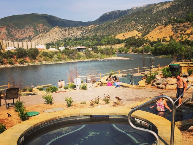 Best. Pit Stop. Ever: Iron Mountain Hot Springs