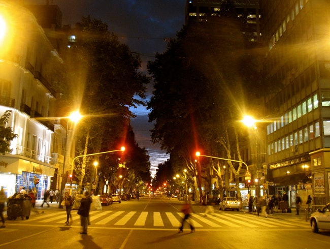 Stroll down the city's grand avenues