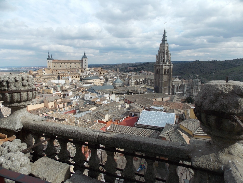Best view in Toledo Toledo  Spain