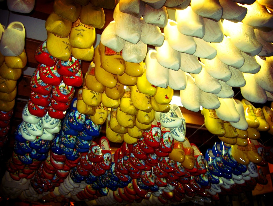 Colorful Clogs in Amsterdam