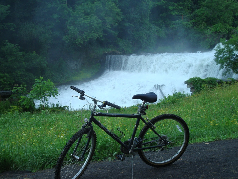 Hiking and Biking in the Finger Lakes, NY Penn Yan New York United States