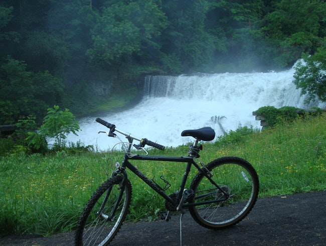 Hiking and Biking in the Finger Lakes, NY