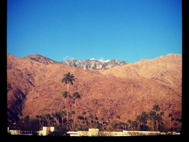 January in Palm Springs