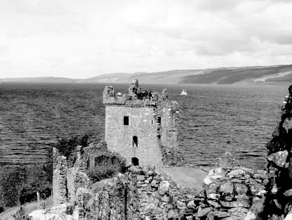 Urquart Castle on Loch Ness, Scotland Drumnadrochit  United Kingdom