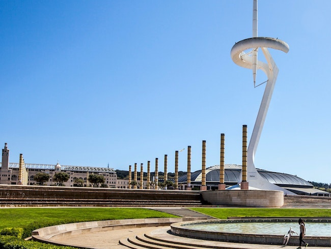 Montjuïc, MNAC, and the Olympic Park