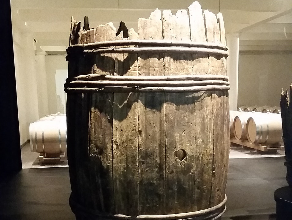 1st-Century Roman Wine Barrel Reims  France