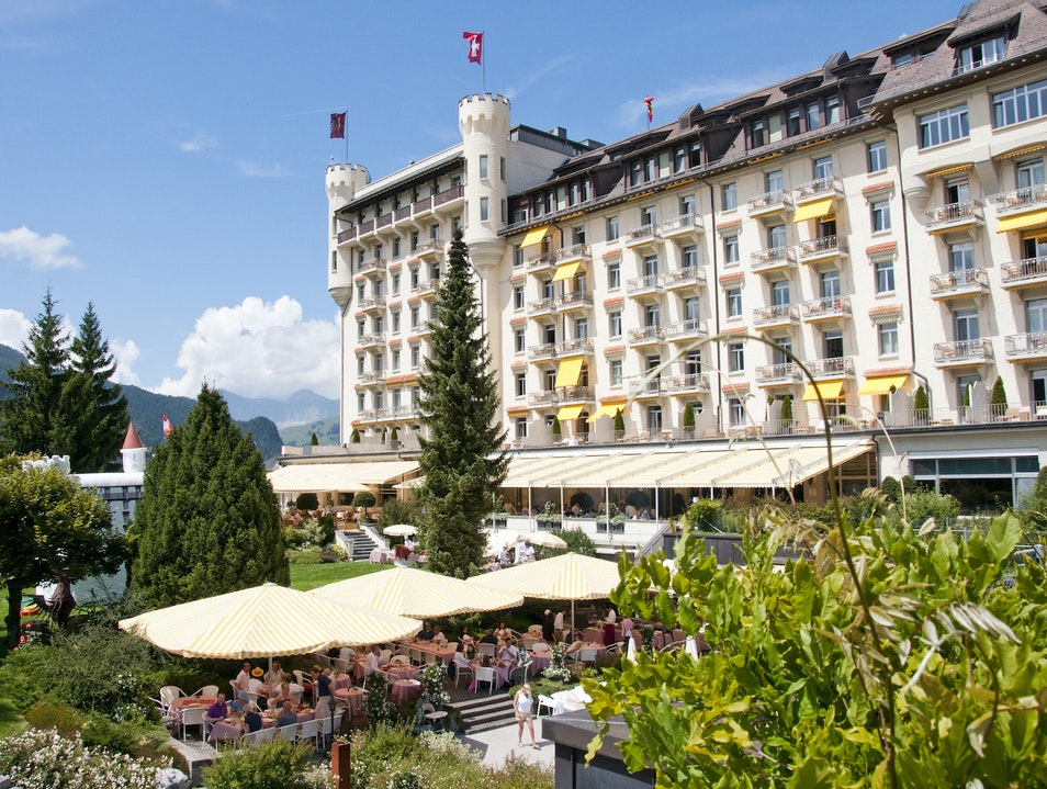 Gstaad's Grand Dame