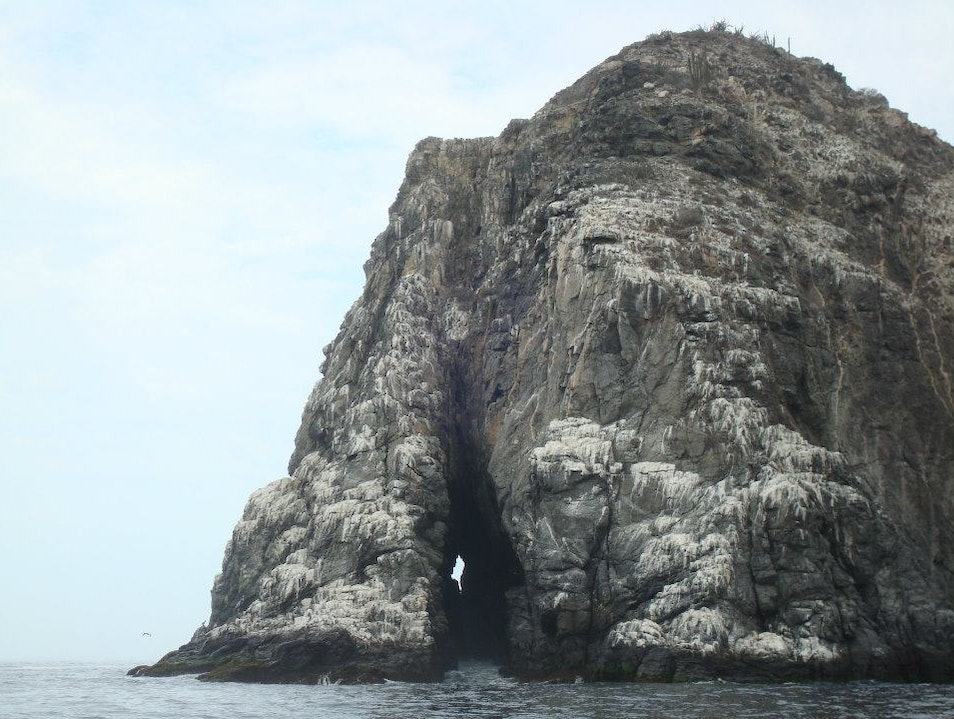 A rock formation with an interesting nickname