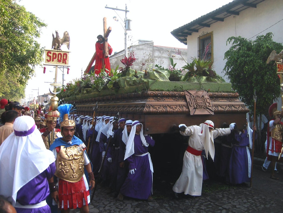 The Weight of Easter in Antigua Guatemala City  Guatemala