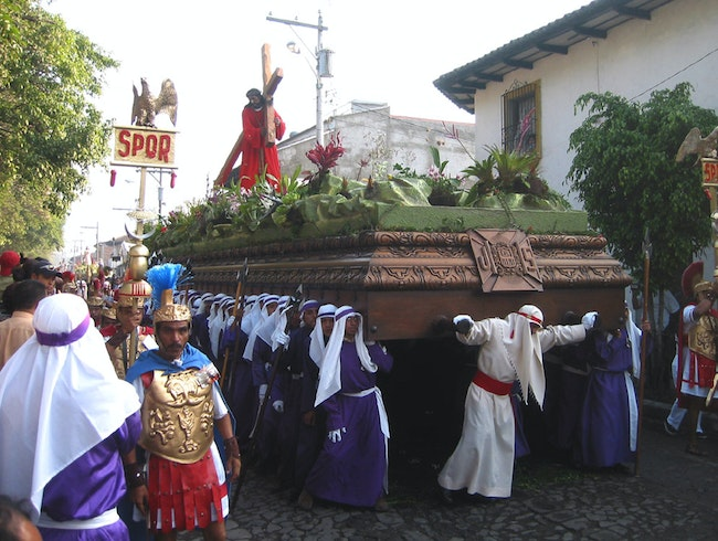 The Weight of Easter in Antigua