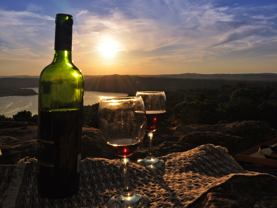 Which wine goes with this sunset? Peten  Guatemala
