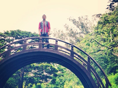 Drum Bridge in Japanese Tea Garden San Francisco California United States