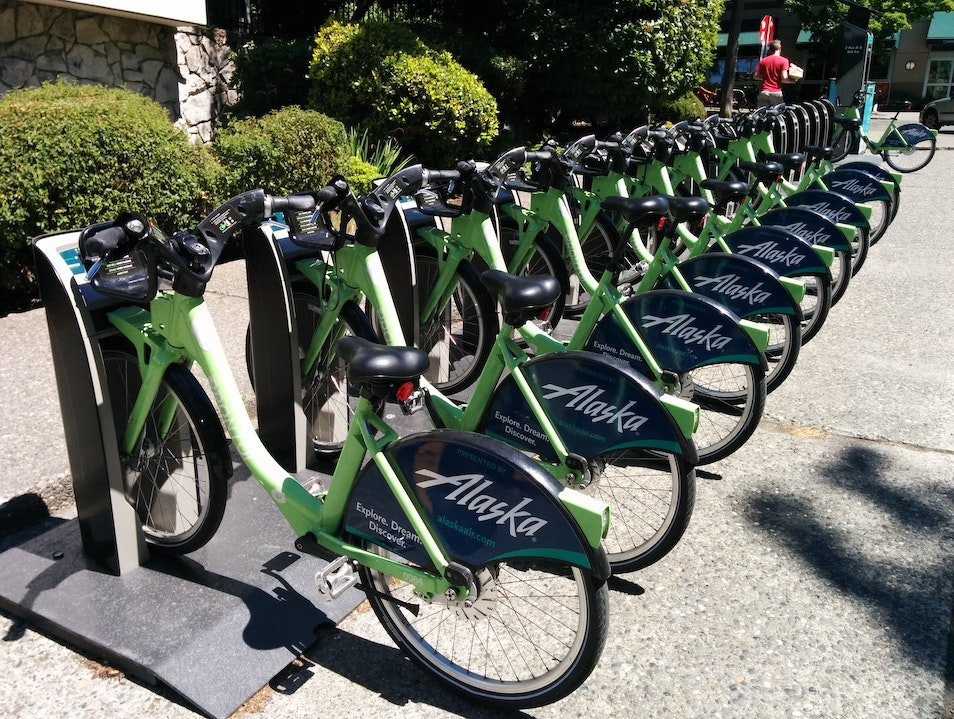 Bikes on Demand with Pronto Seattle Washington United States