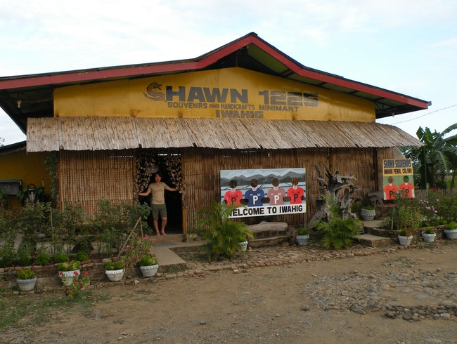 Souvenir Shop outside Iwahig open prison