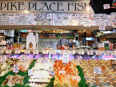 Pike Place Market Seattle Washington United States