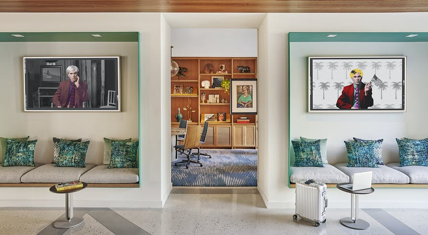Viceroy Santa Monica  recently upped its art game, collaborating with artists from the area.
