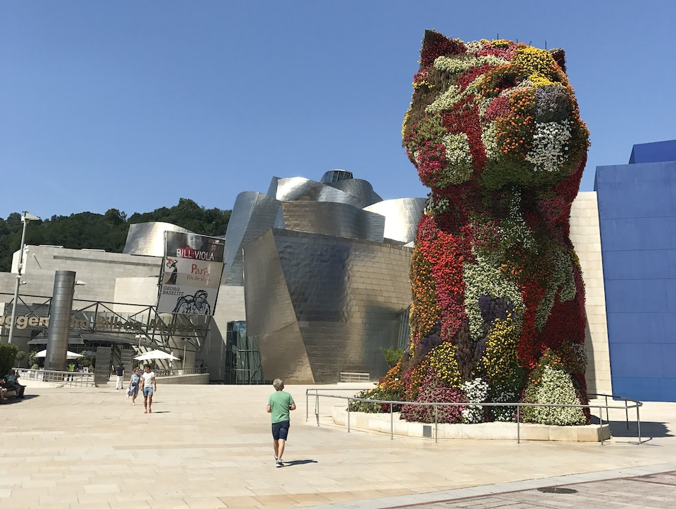A Frank Gehry spectacle that houses untold jewels. Bilbo  Spain